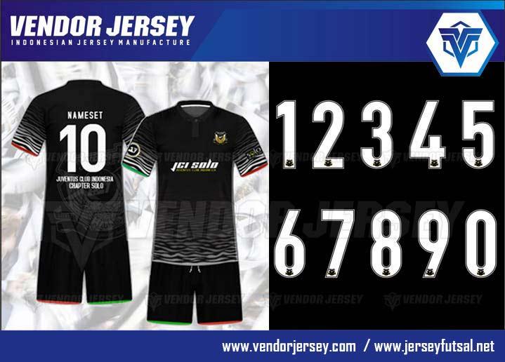 desain jersey futsal berkerah