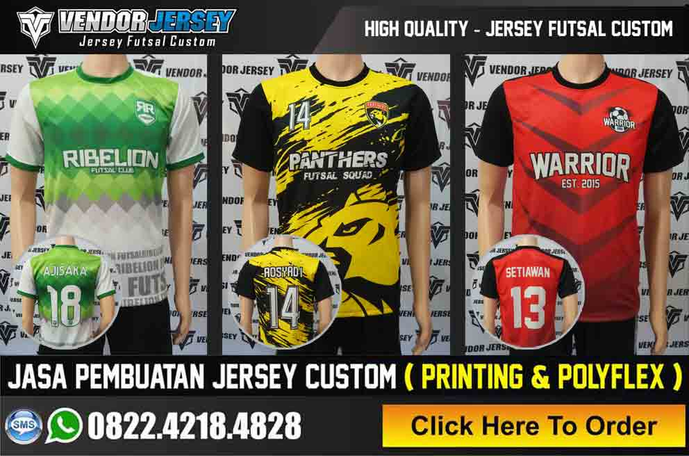 Vendor Jersey Futsal