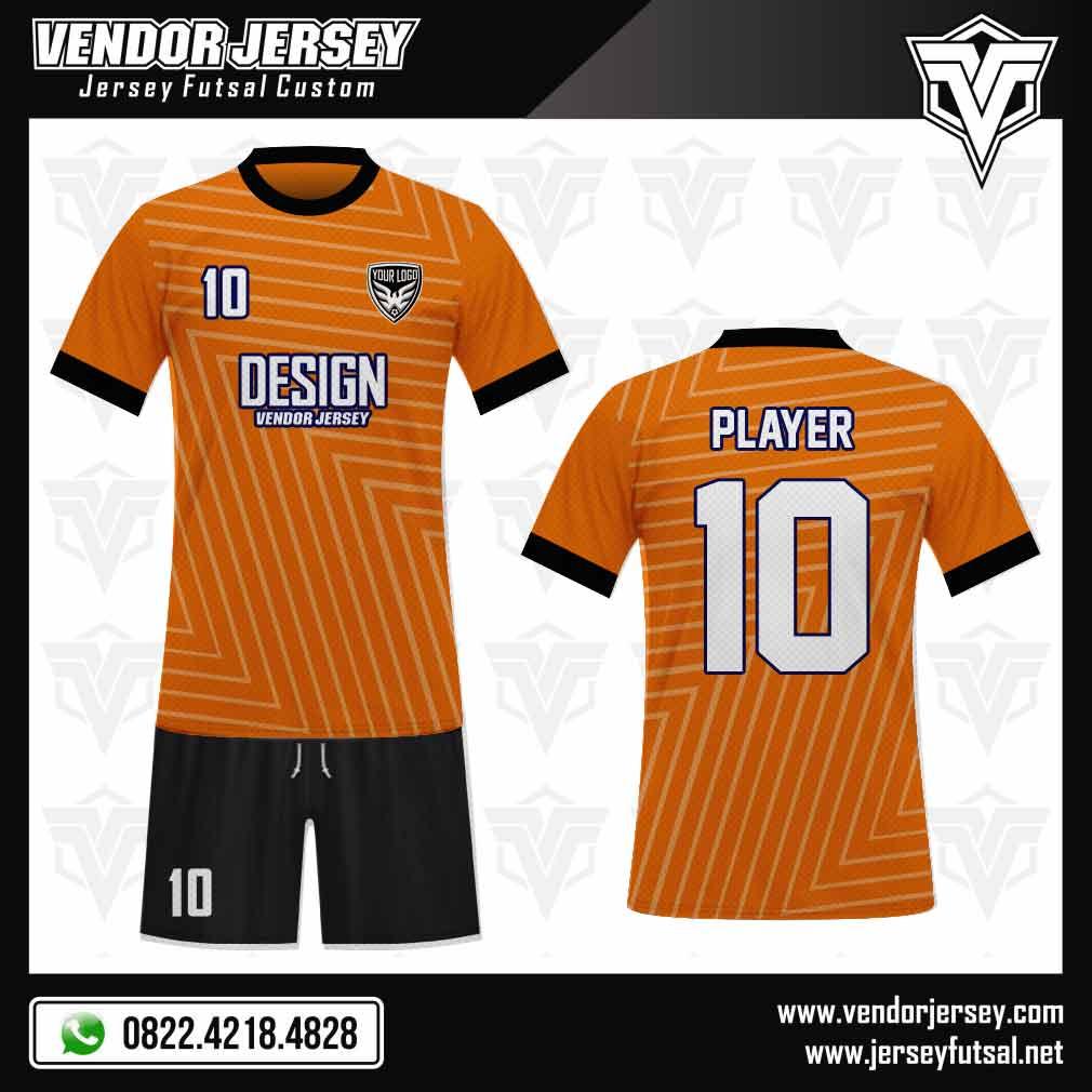 Desain Jersey Futsal - Linear