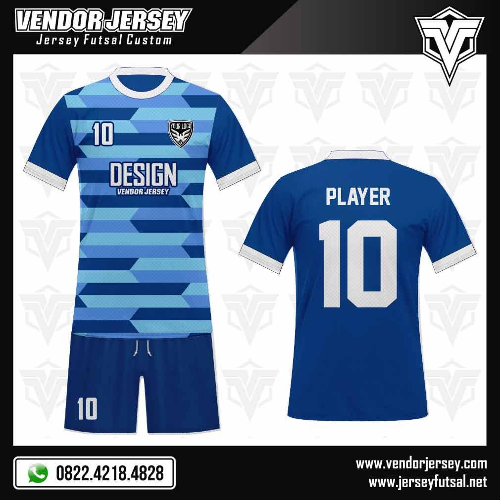 Desain Jersey Seragam Futsal - Azzurra