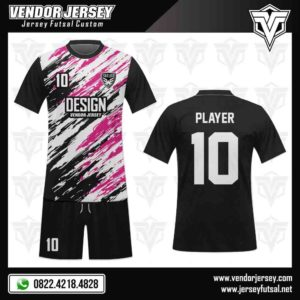Desain Kostum Jersey Futsal -Spotting