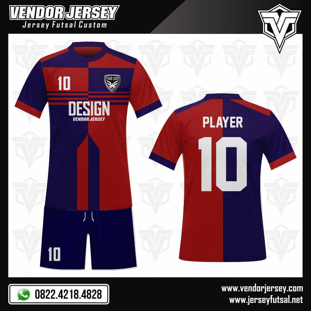 gambar desain baju futsal