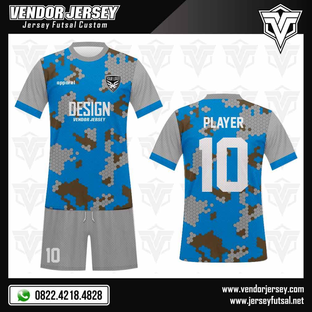 Desain Baju Futsal Hexamix | Vendor Jersey Futsal
