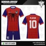 Desain Baju Futsal Spiderman