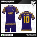 Desain Kaos Futsal Motif Batik Di Lengan