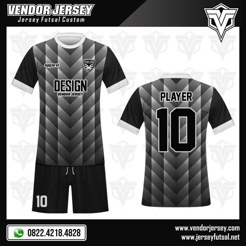 Desain Kaos Futsal Samehada | Vendor Jersey Futsal