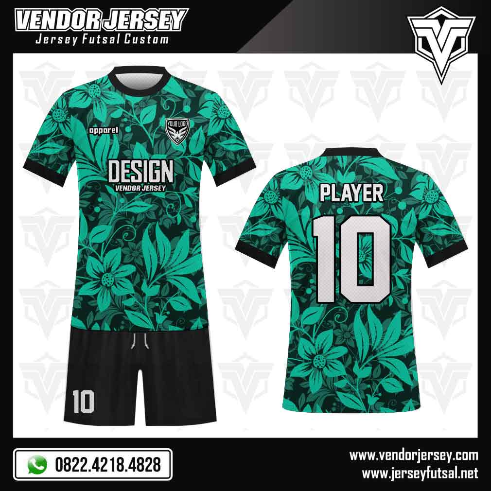 Desain Kostum Futsal Foglia