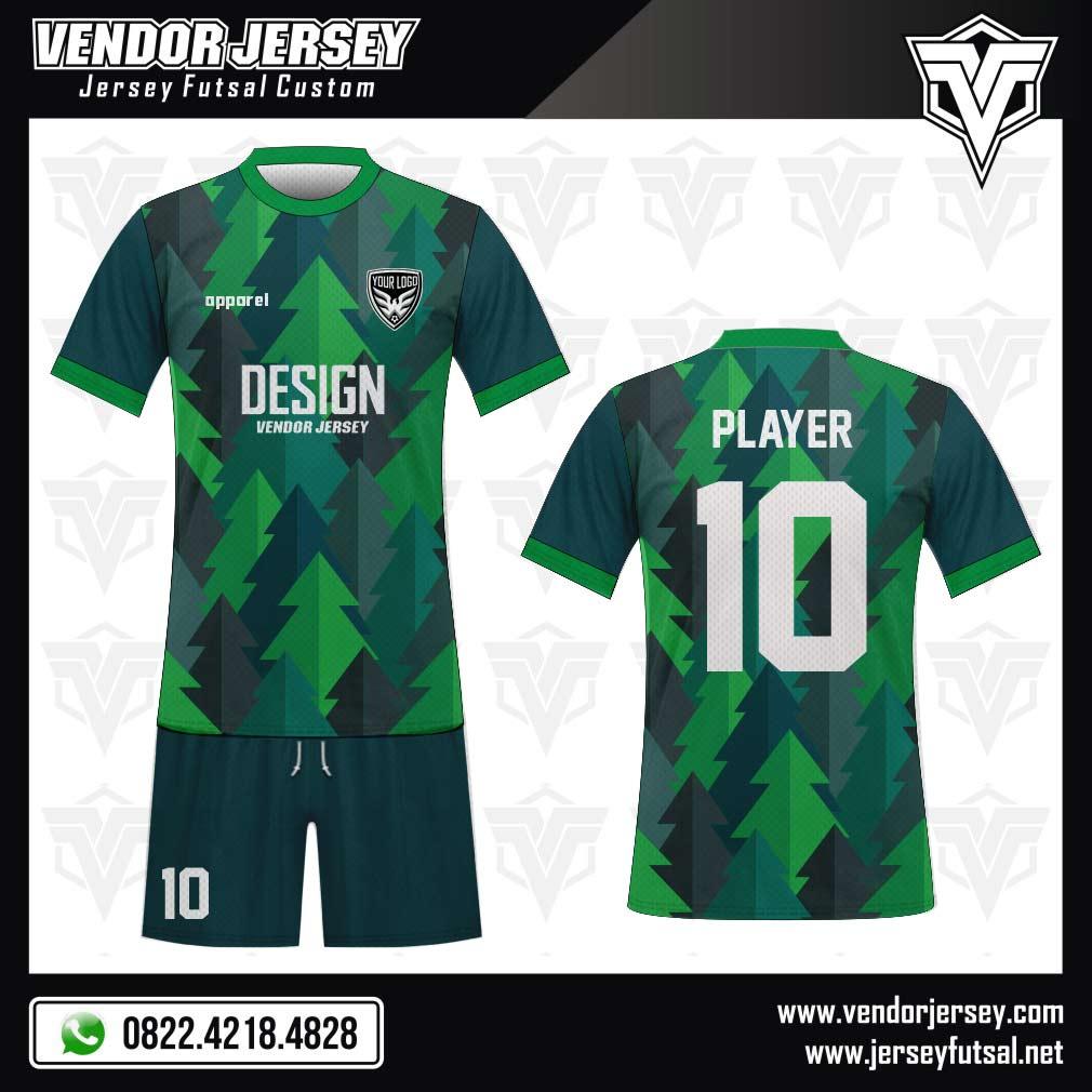 Desain Seragam Baju Futsal Forestogren