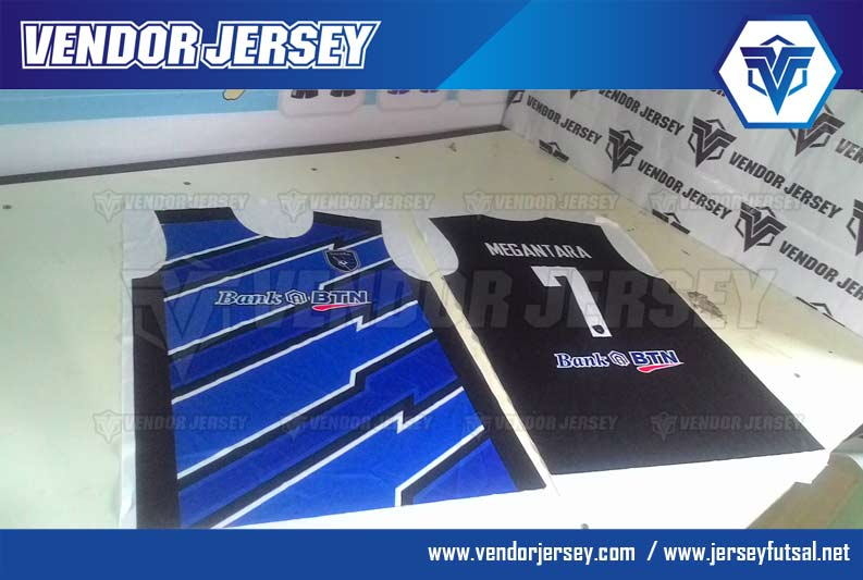bikin Jersey futsal Desain Terbaru