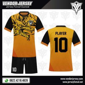 Desain Baju Futsal The Dragon – Motif Naga