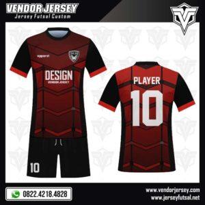Desain Kostum Futsal Fighters