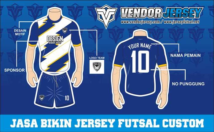 Jasa Buat Kostum Futsal Printing terbaik