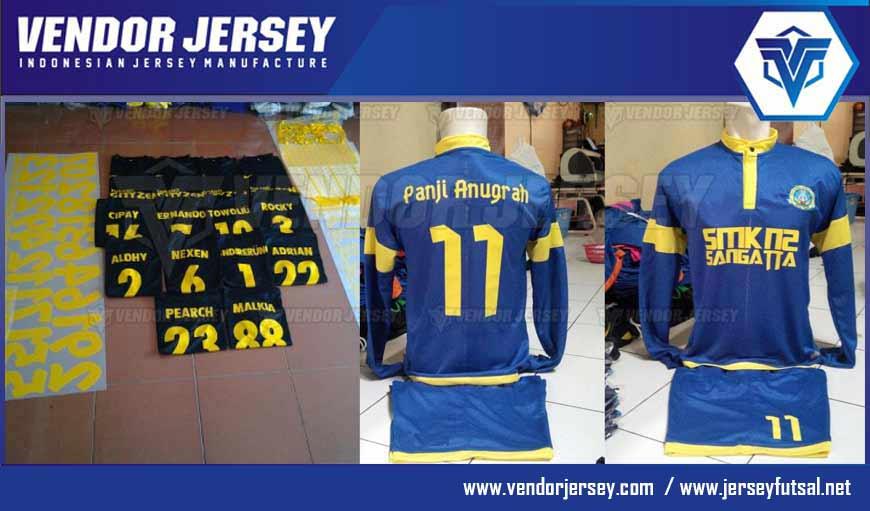 Membuat Sablon Polyflex Terbaik Untuk Jersey Futsal Dan Sepakbola