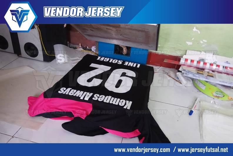 Membuat Sablon Polyflex Terbaik Untuk Jersey Futsal